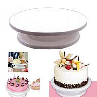 Столик вращающийся для торта 28 см