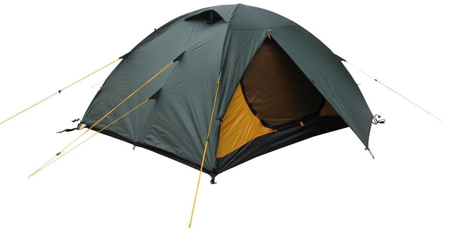 "Палатка Terra Incognita ""Platou 3 Alu"" тёмно-зелёный"