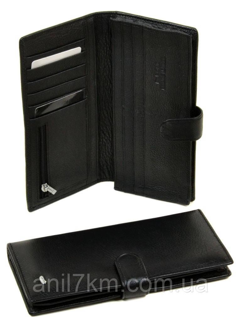 Мужской кожаный кошелёк-купюрник фирмы Dr.BOND
