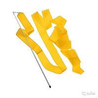 Лента гимнастическая. Цвет: жёлтый.