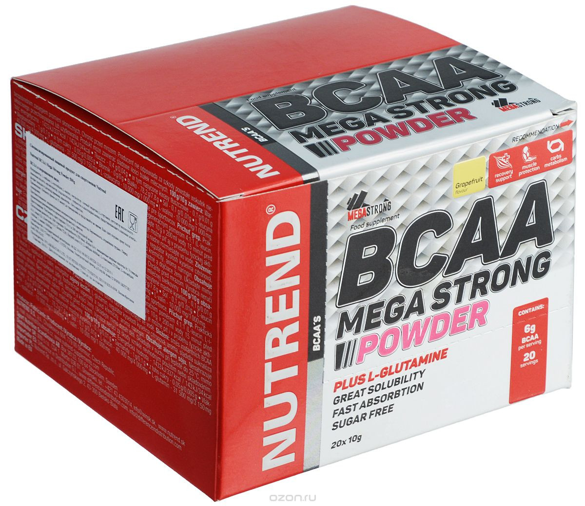 NUTREND BCAA Mega Strong Powder 20х10 g