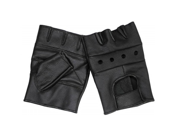 Кожаные беспалые перчатки MFH 15514 XL