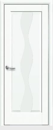 Модель Волна белый матовый глухое межкомнатные двери, Николаев, фото 2