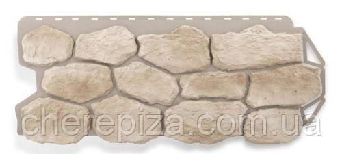 Фасадная панель Бутовый камень Нормандский