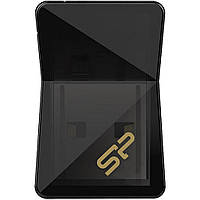 USB флеш накопитель Silicon Power 32GB Jewel J08 Black USB 3.0 (SP032GBUF3J08V1K)