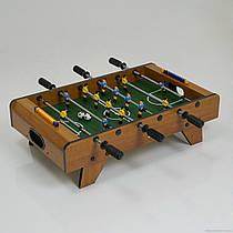 Футбол 628 В  деревянный, на штангах, в коробк