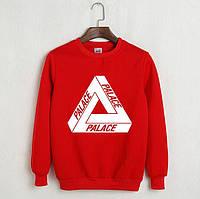 Свитшот Palace красный    мужской    женский    осенний    кофта    свитер    реплика