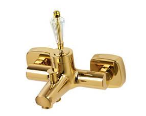 Смеситель для ванны Venezia Diamond Gold 5010201