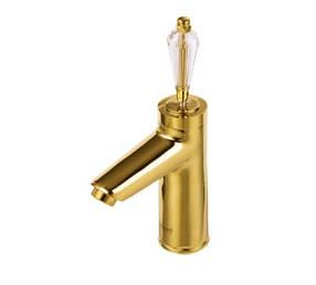 Смеситель для умывальника Venezia Diamond Gold 5010204