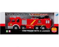 Игрушка пожарная машина с лестницей и брандсбойтом