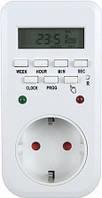 Розетка-таймер недельный Lemanso LM-680 на 8 программ
