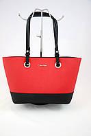 Calvin Klein Saffiano Leather
