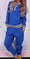 Подростковый спортивный костюм на молнии с довязом, фото 1