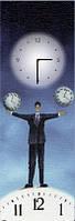 Картина-часы (30х90 см)