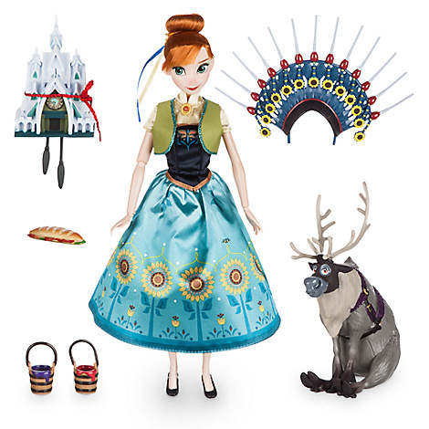 Кукла Disney Anna deluxe singing, поющая принцесса Анна с аксессуарами. Оригинал