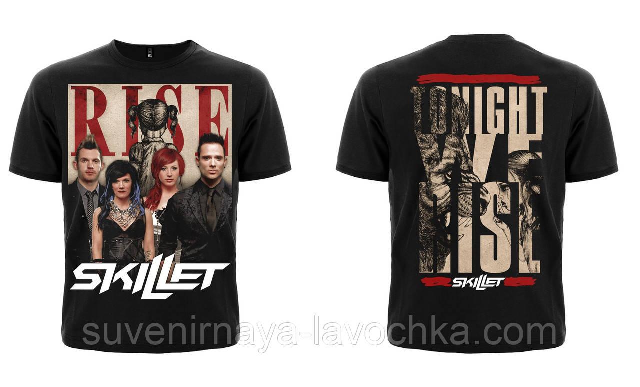"Рок футболка Skillet ""Rise"""