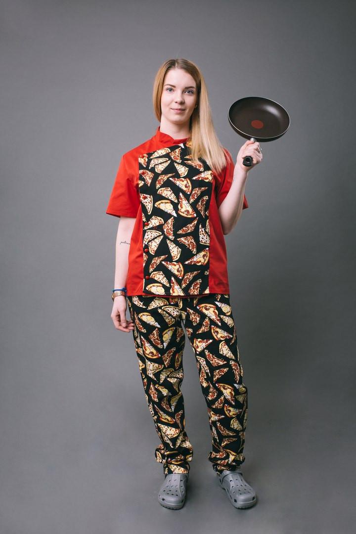 Костюм поварской PIZZA