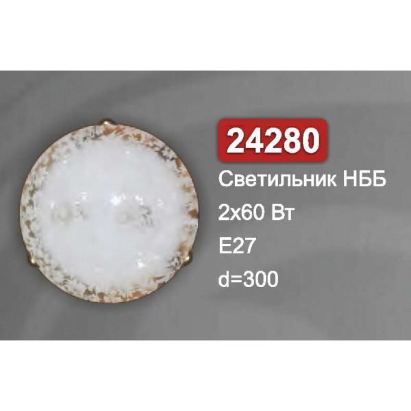 Світильник стельовий Vesta Light НББ 24280 прозорий