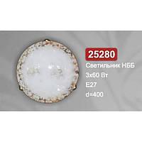 Светильник потолочный Vesta Light НББ 25280 прозрачный