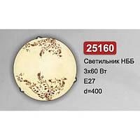Світильник стельовий Vesta Light НББ 25160 жовтий