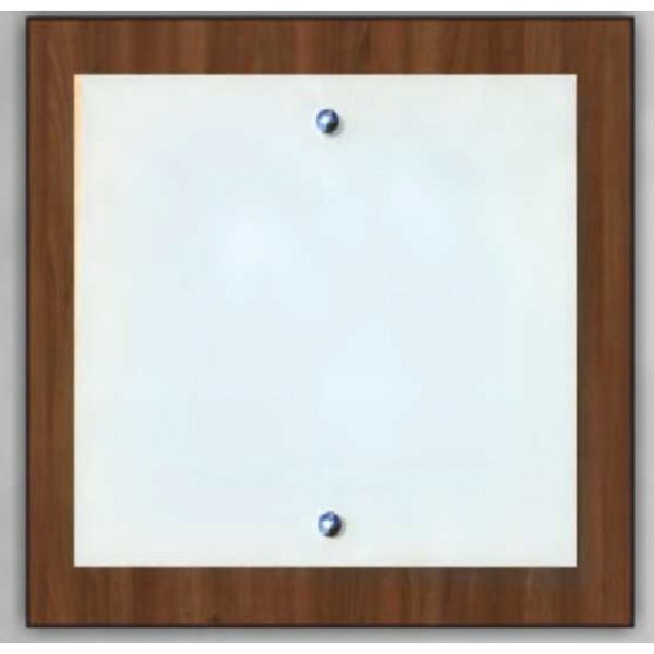 Світильник стельовий Vesta Light НББ 28012 Горіх