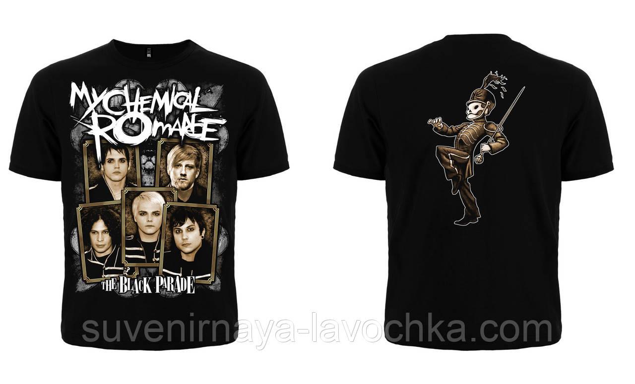 "Рок футболка My Chemical Romance ""The Black Parade"""