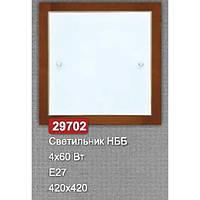 Світильник стельовий Vesta Light НББ 29702 Горіх