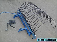 Грабли навесные для мототрактора (1,5 м)