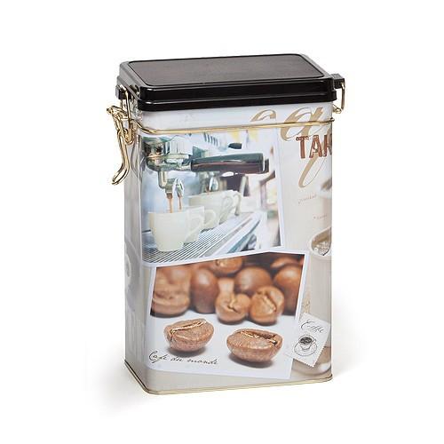 """Банка для хранения кофе с клипсой """"Кофе"""" 500 грамм"""