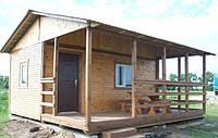 Дачный домик с верандой на 10м2