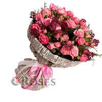 """Букет из розовых роз """"Брайтон"""""""