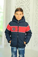 Куртка СПОРТ демисезонная, синяя, р.116,122