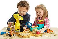 Игровой набор с кинетическим песком Боб строитель, Fisher-Price Bob Builder. Оригинал