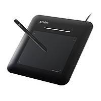 Графический планшет для рисования XP-Pen G540, безбатарейный стилус, рабочая область 5.5 х 4 дюймов. Черный