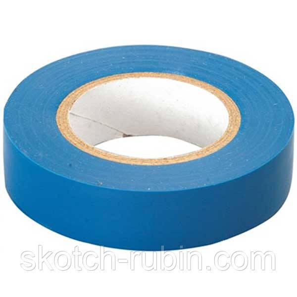 Изолента пвх синяя 18 мм 17 м