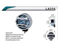 Фары дополнительные DLAA  310 RY хром/H3-12V-55W/D=166mm