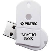USB флеш накопитель Pretec 16GB i-Disk MAGICBOX White USB 2.0 (BOX16G-WV)