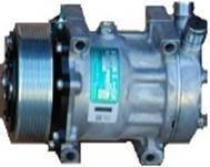 Компрессор 7Н15, PV8, 12 В, O-Ring, direct mount, вертикальные выходы, DYNE