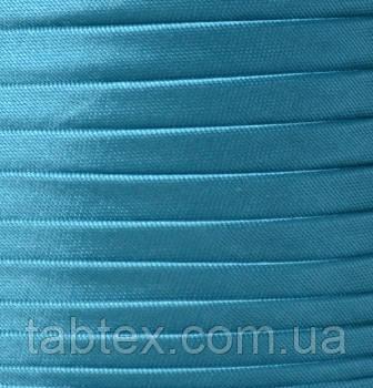 "Коса Бейка ""Kotex""№8070(бірюза/гол) атласна 110 ярд. (100,60 м)"