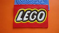 """Силиконовый коврик """"Надпись Лего"""""""