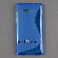 Силиконовый S-line чехол для HTC Desire 600 606w