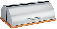 Хлебница Maestro средняя (нержавеющая сталь)