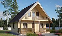 Дачный домик на 70м2