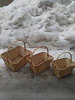 Подарочные корзины из лозы