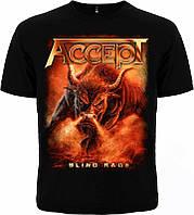 "Рок футболка Accept ""Blind Rage"""