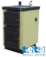 Котел-плита твердотопливный KALVIS-4B регулятор тяги (1 конфорка) 10 кВт