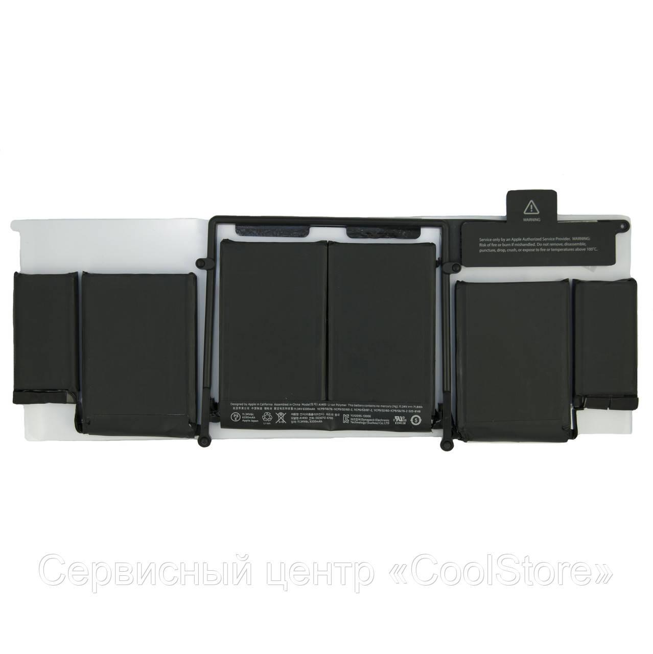 "Батарея A1493 для MacBook Pro Retina 13"" 2013-2014гг. A1502"