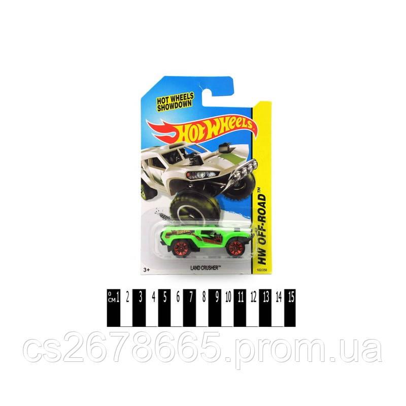 Машина метал-пластик типа Хот Вилс (блистер) 1601-1