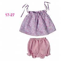 Летний комплект одежды для девочки