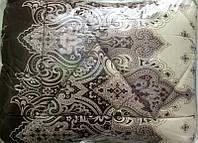 Одеяло овечья шерсть + сатин теплое и стильное новинка сезона, фото 1